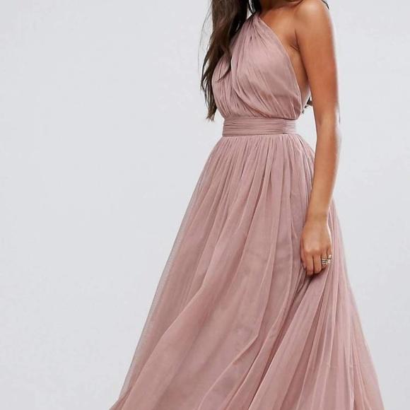 43ea54465e80 ASOS Dresses & Skirts - Asos Dusty Rose Tulle Dress